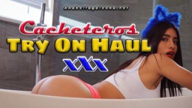 Anabella Galeano - Try On Haul | Cacheteros