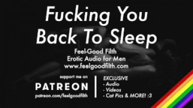 Putting My Horny Cock Slut Back To Bed With My Big Cock [GAY Dirty Talk] [Erotic Audio for Men]