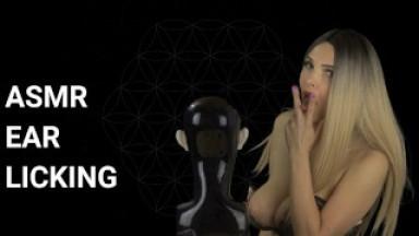 ASMR Ear Licking till Brain Orgasm - Milaluv 4K - 320kbps stereo