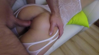 Young prostitue Claudia ride and get what she deserves