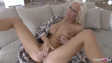 One Night Stand want to let you Cum with German POV Dirty Talk