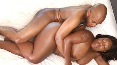 Ebony BBW Has Passionate Sex | Fan Custom Preview