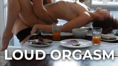 Loud breakfast orgasms wake the neighbours - Strawberry Brunch - LickMyLucy S2E3