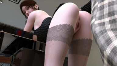 Fashion Business EP1 Part 4 Old Boss Fucked Secretary By LoveSkySan69