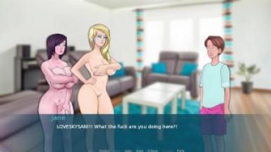 Sex Note v0.055 Part 1 Sex House By LoveSkySan69