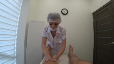 Foot massage, had sex with a masseuse after a blowjob finished in her mouth