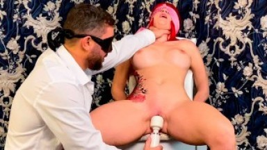 Remote control over my pussy - Tied me up and made me Tremble with Orgasm
