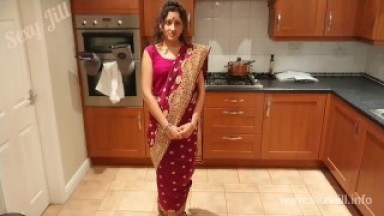 Cheating Bhabhi teaches Devar about kamasutra hindi sex story in saree POV
