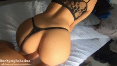 Sexy GIRL is FUCKED INSIDE her WARM PUSSY & TIGHT THROAT!! Trobbing ORAL CREAMPIE. ONENYMPHOLATINA