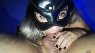 I CUM 2 TIMES down her Throat ! Second time her THROAT EXPLODES WITH CUM !!