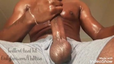 IssaNut Talks Dirty and Moans until he cums!!! Follow onlyfans in bio 4 full video!!