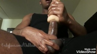 IssaNut FUCKS A SEX TOY AND CUMS!