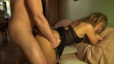 She moans while I fuck her