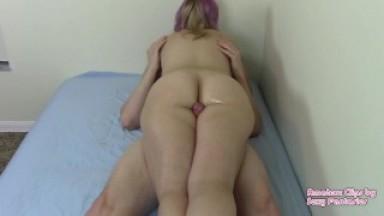 Cockscissor Scissorhold to BF With Headache to Get Cum
